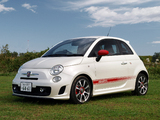Pictures of Abarth 500 JP-spec (2009)