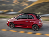 Pictures of Fiat 500C Abarth US-spec (2013)