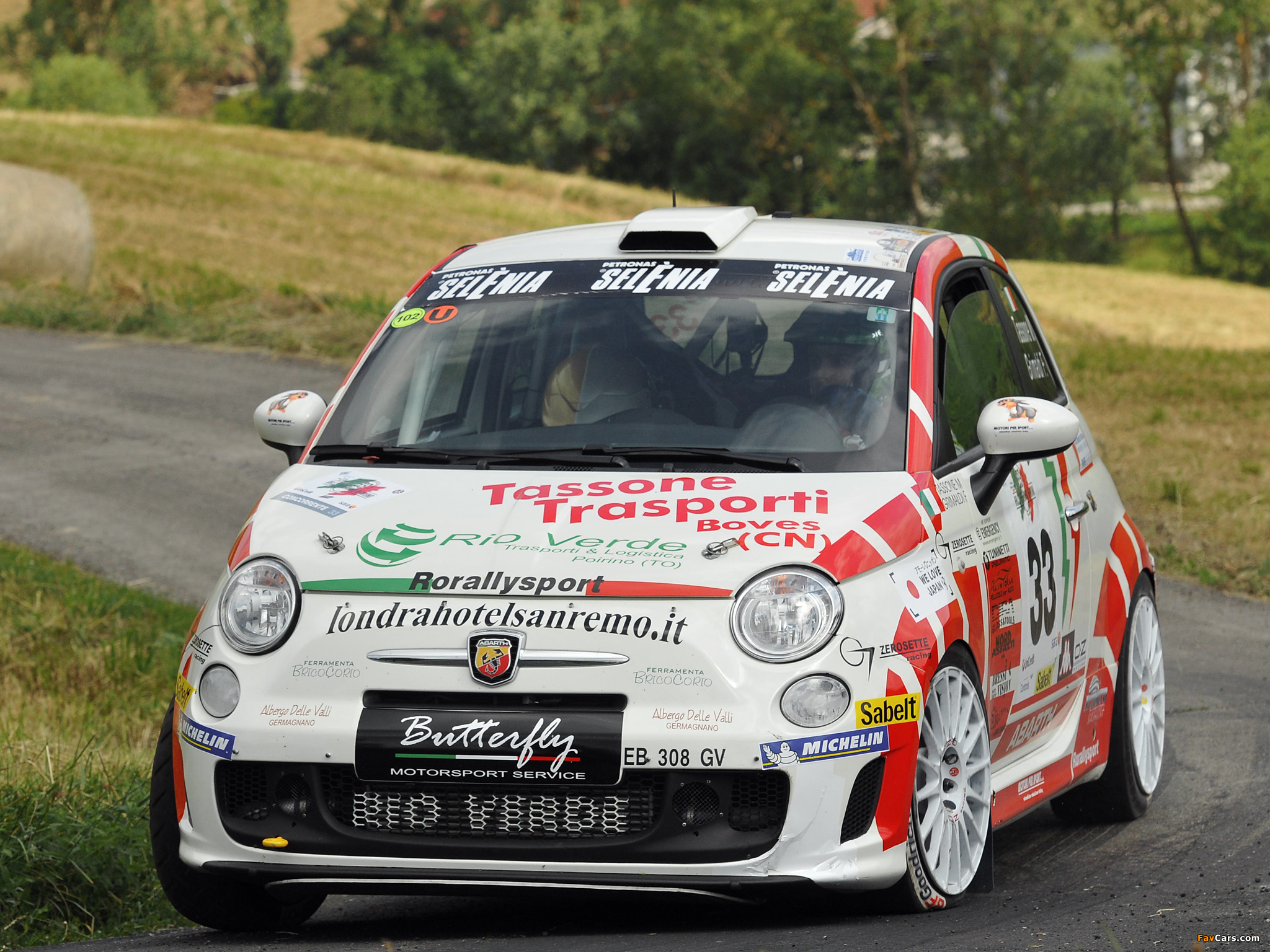 Abarth 500 R3t 2009 Wallpapers 2048x1536