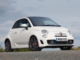 Abarth 500C UK-spec (2010) wallpapers