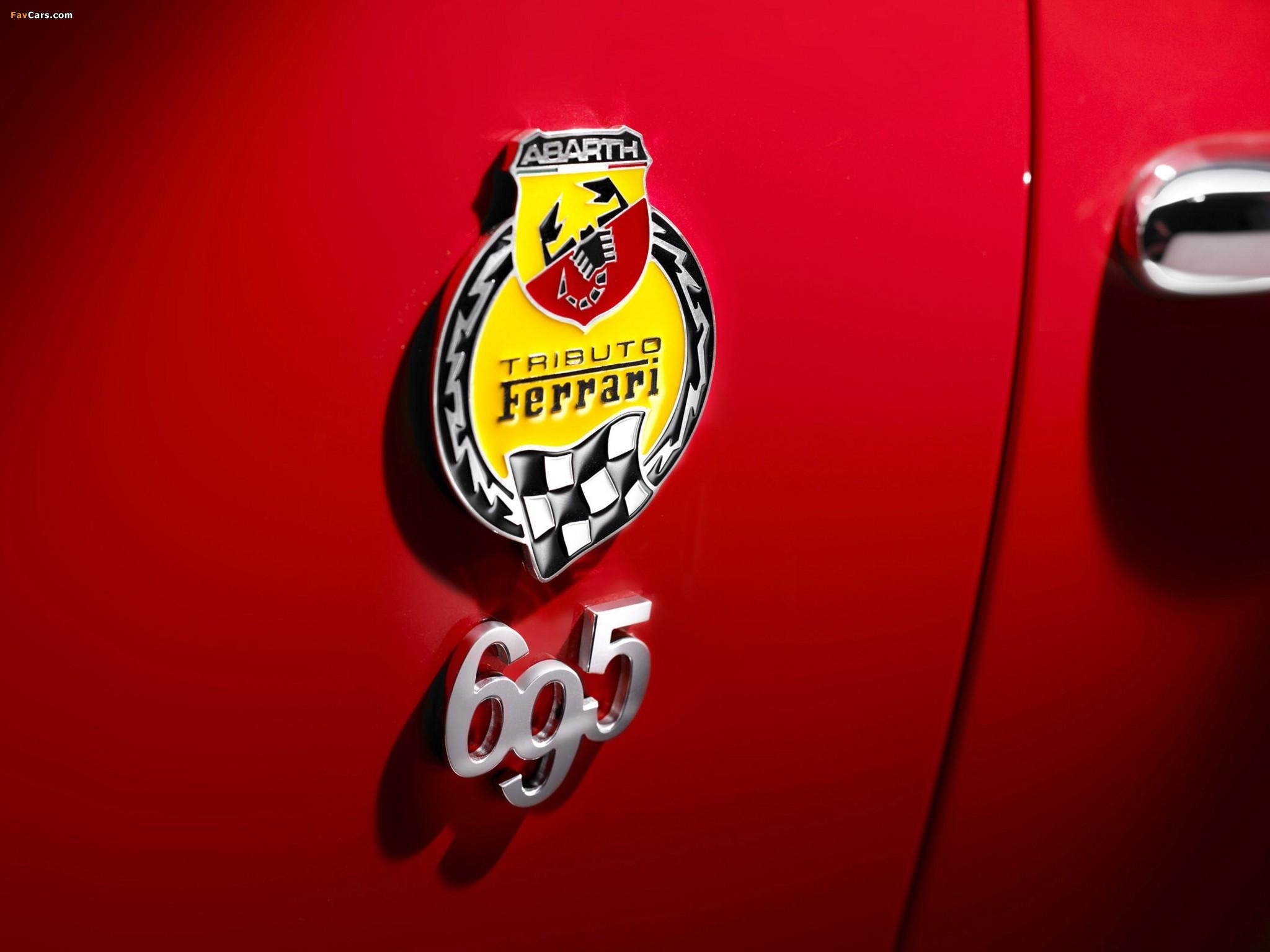 Abarth 695 Tributo Ferrari (2010) wallpapers (2048 x 1536)