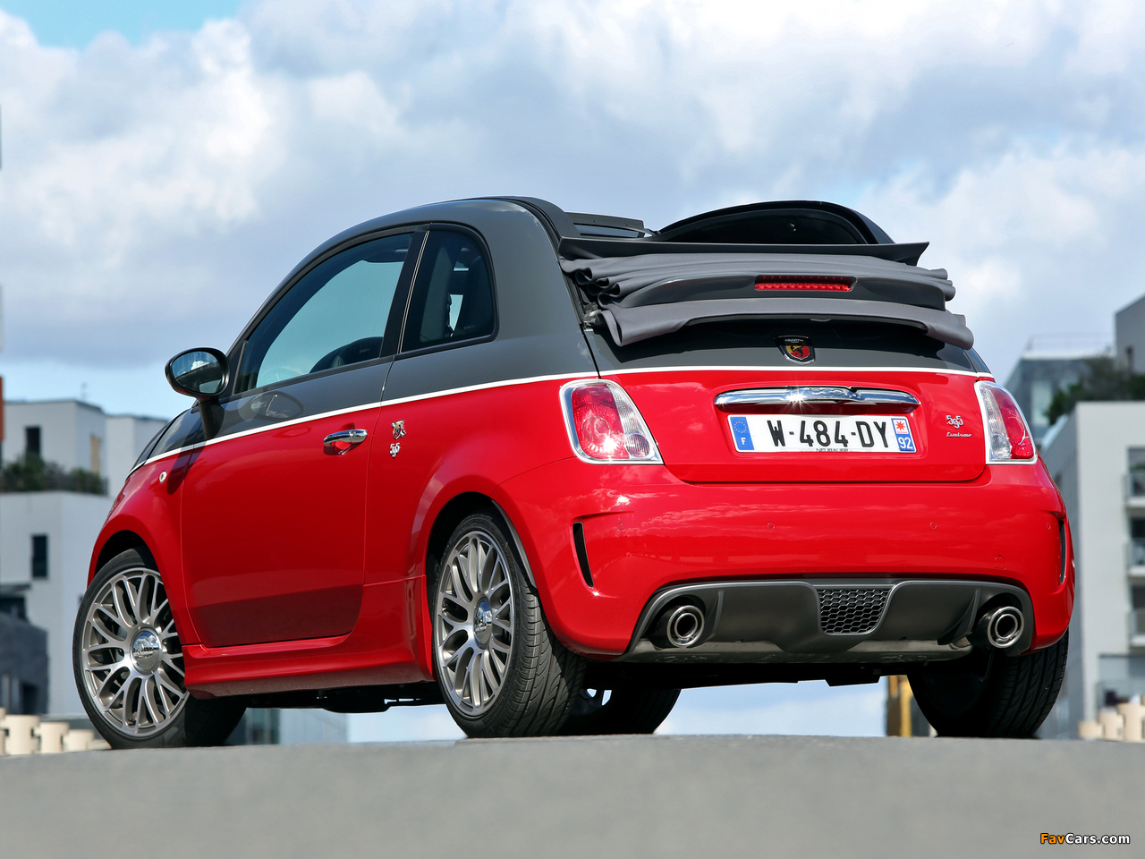 Abarth 595C Turismo (2012) wallpapers (1280 x 960)