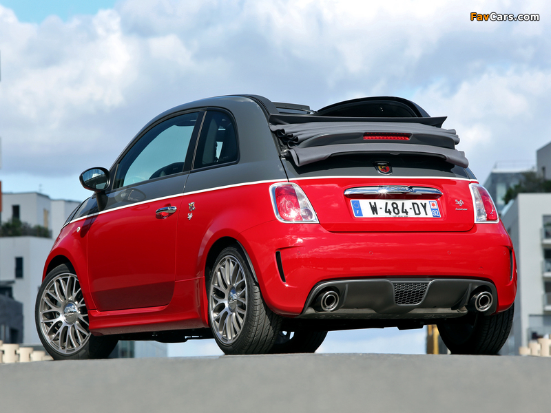 Abarth 595C Turismo (2012) wallpapers (800 x 600)
