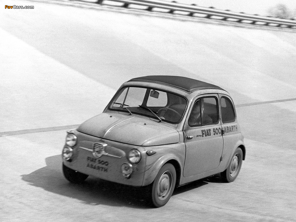 Fiat 500 Abarth 1957 1963 Wallpapers 1024x768