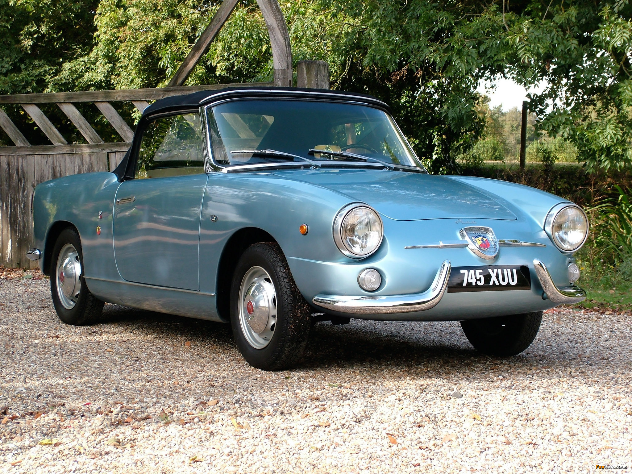 Fiat Abarth 750 Spider (1958–1959) wallpapers (2048 x 1536)