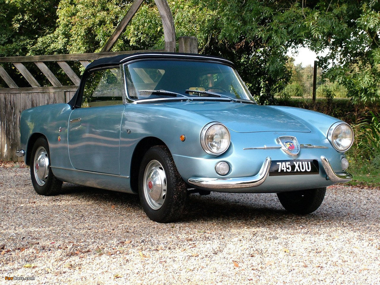 Fiat Abarth 750 Spider (1958–1959) wallpapers (1280 x 960)