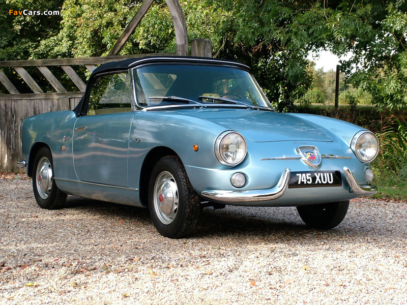 Fiat Abarth 750 Spider (1958–1959) wallpapers (800 x 600)