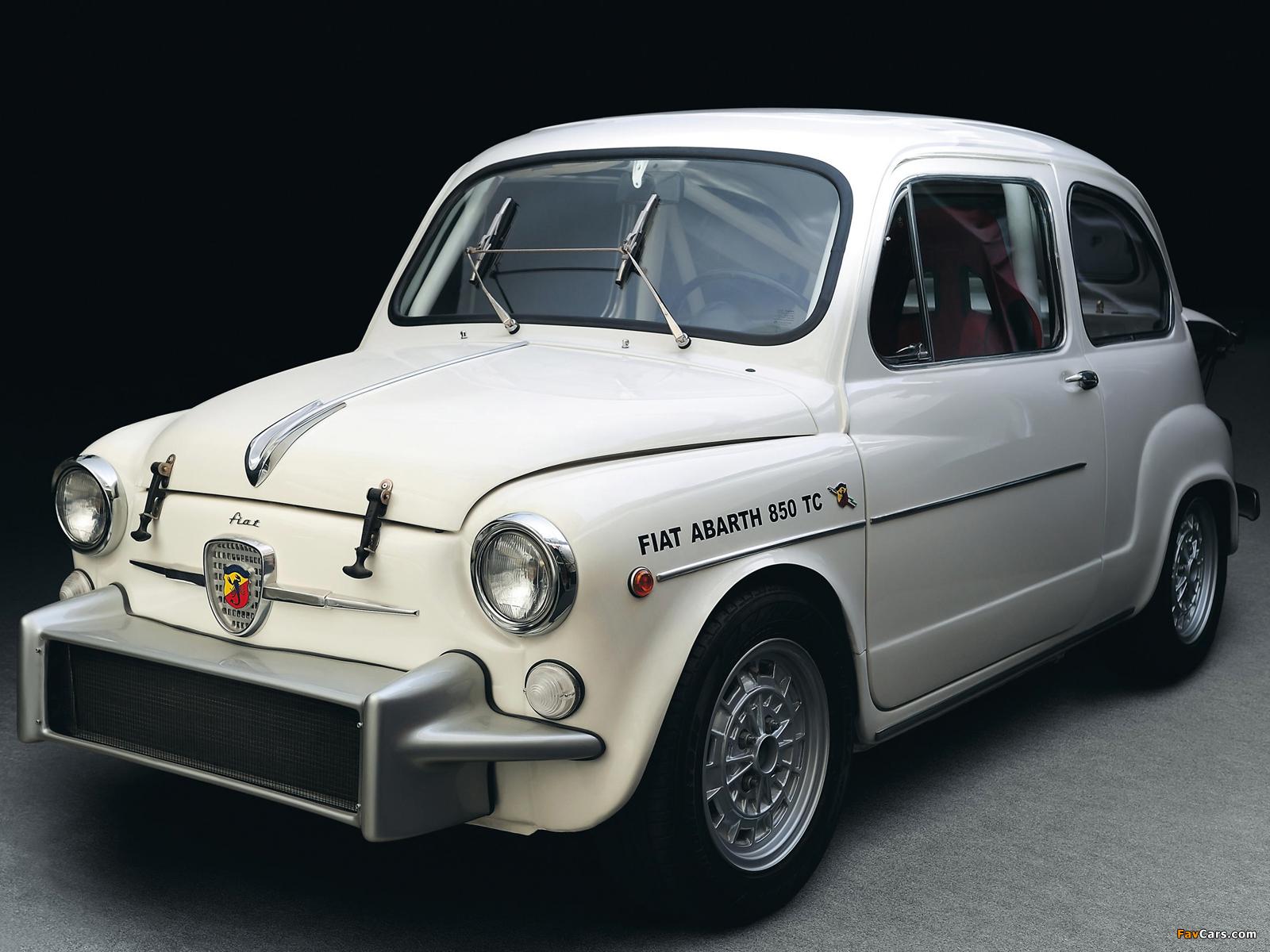 Fiat Abarth 850 Tc Corsa 1965 1966 Photos 1600x1200