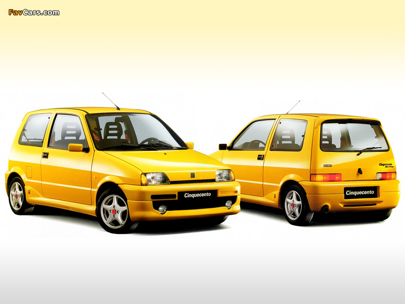 Images Of Fiat Cinquecento Sporting Abarth 170 1995 1998