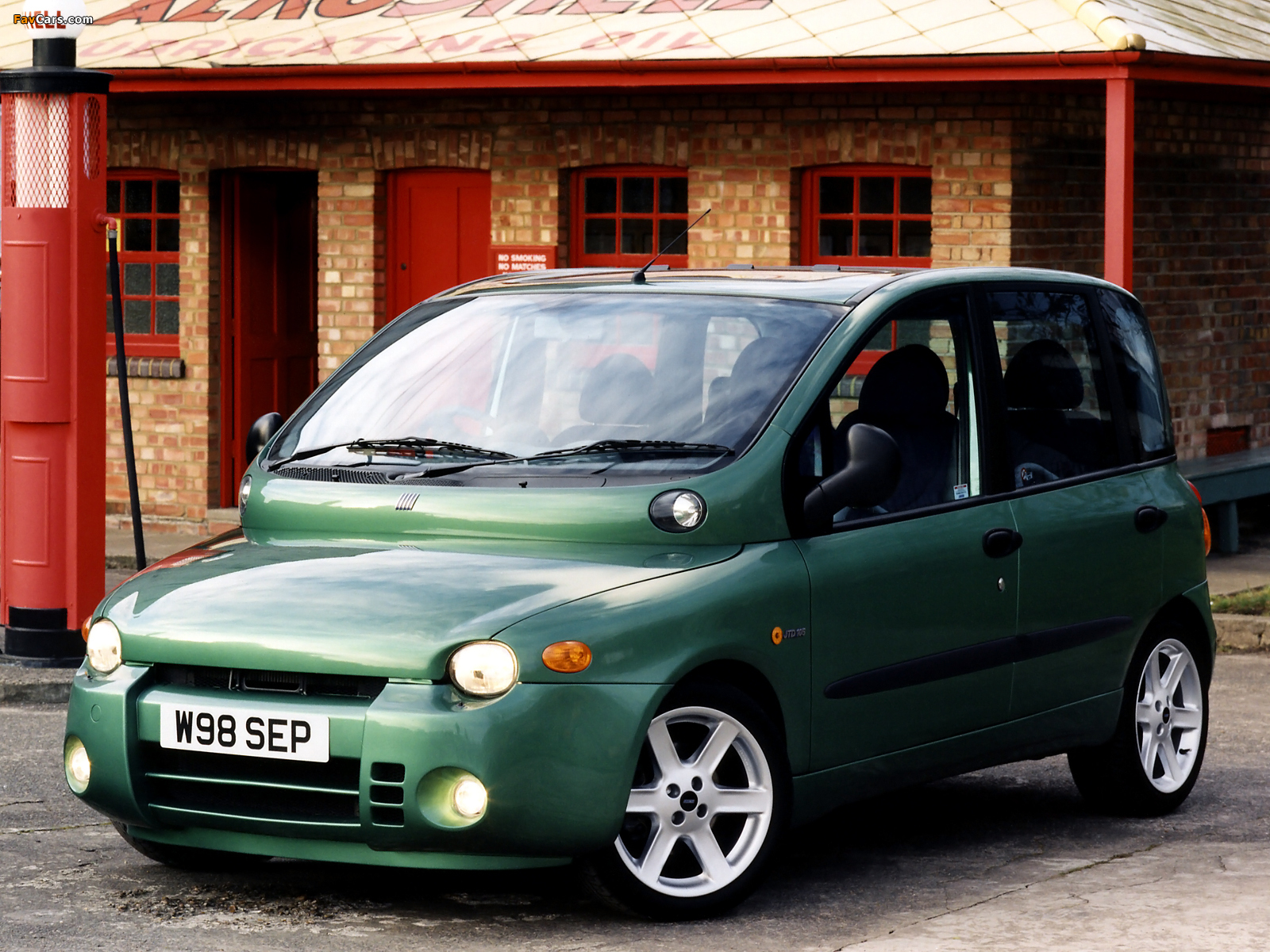 Photos of Fiat Multipla Abarth Look UK-spec (2000–2001) (1600 x 1200)