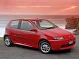 Fiat Punto HGT Abarth NZ-spec 188 (2002–2003) pictures