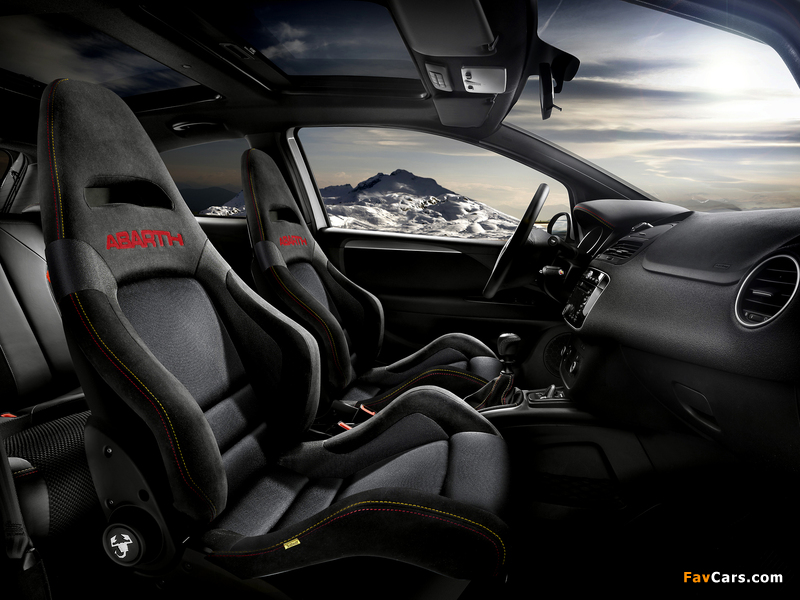 Abarth Punto Supersport 199 2012 Wallpapers 800x600