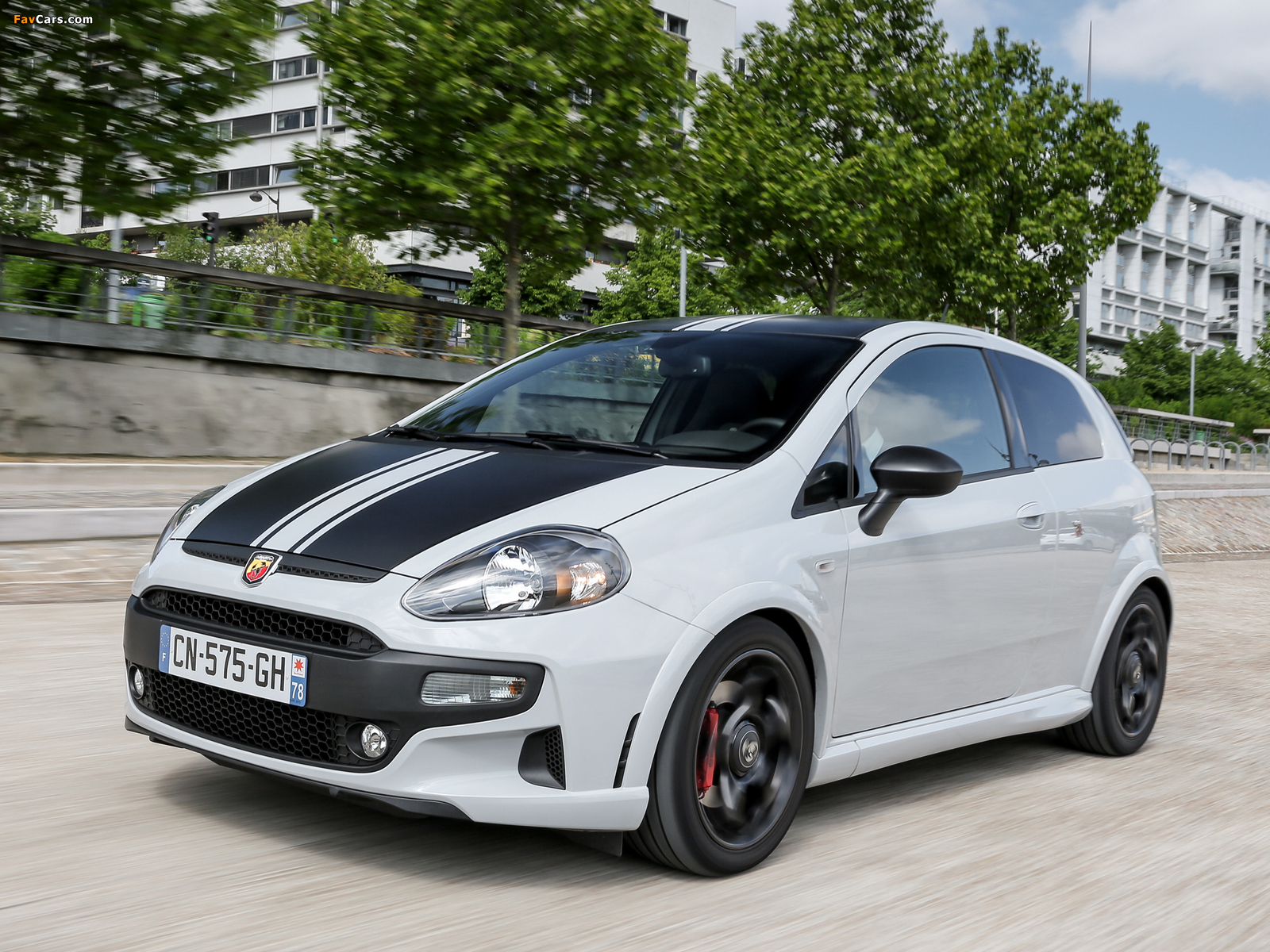Abarth Punto SuperSport 199 (2012) wallpapers (1600 x 1200)