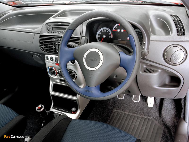 Fiat Punto HGT Abarth NZ-spec 188 (2002–2003) pictures (800 x 600)