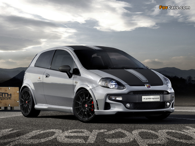Images of Abarth Punto SuperSport 199 (2012) (640 x 480)