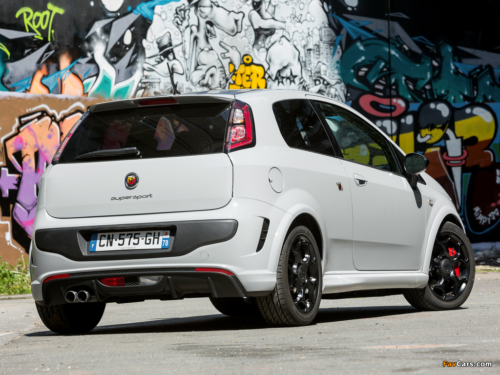 Images of Abarth Punto SuperSport 199 (2012) (1024 x 768)