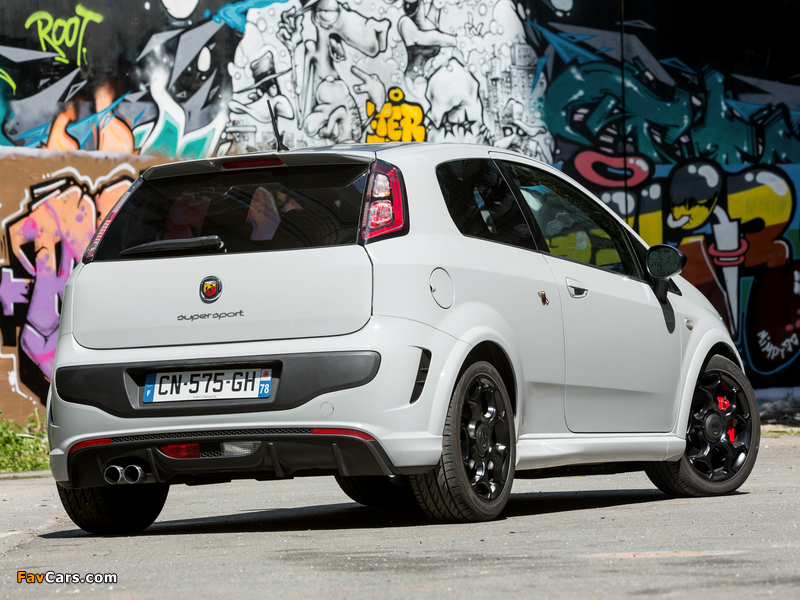 Images of Abarth Punto SuperSport 199 (2012) (800 x 600)