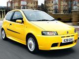 Pictures of Fiat Punto HGT Abarth UK-spec 188 (2001–2003)