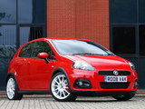 Pictures of Abarth Grande Punto esseesse UK-spec 199 (2008–2010)