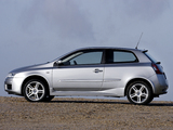 Fiat Stilo Abarth 3-door UK-spec 192 (2001–2006) images