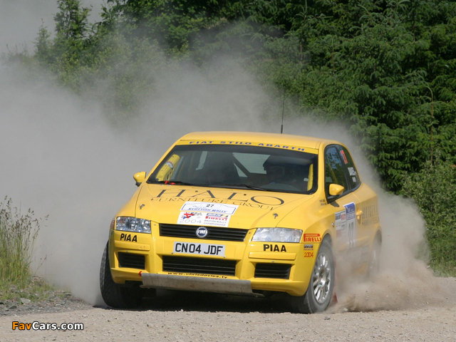 Fiat Stilo Abarth Rally 192 (2002–2005) wallpapers (640 x 480)