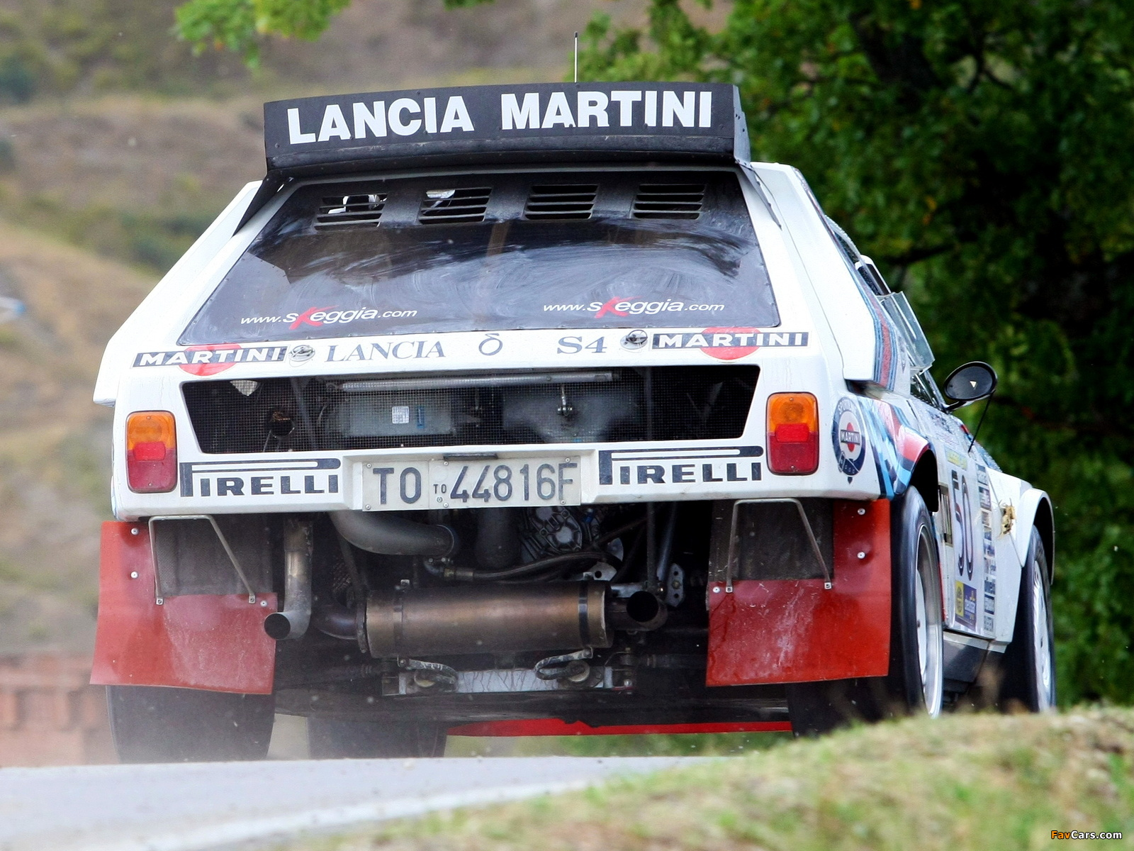 1985 Lancia Delta-S4 Race Car Racing Rally Martini Italy 4000x3000 ...