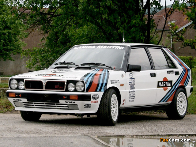 Lancia Delta HF 4WD Gruppo A SE043 (1987) pictures (640 x 480)