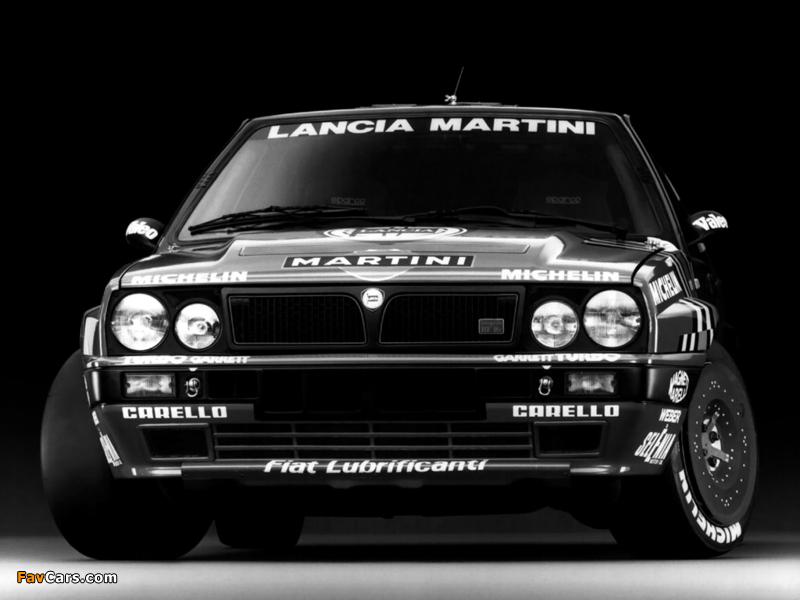 Lancia Delta HF Integrale 16v Gruppo A SE045 (1989–1991) images (800 x 600)