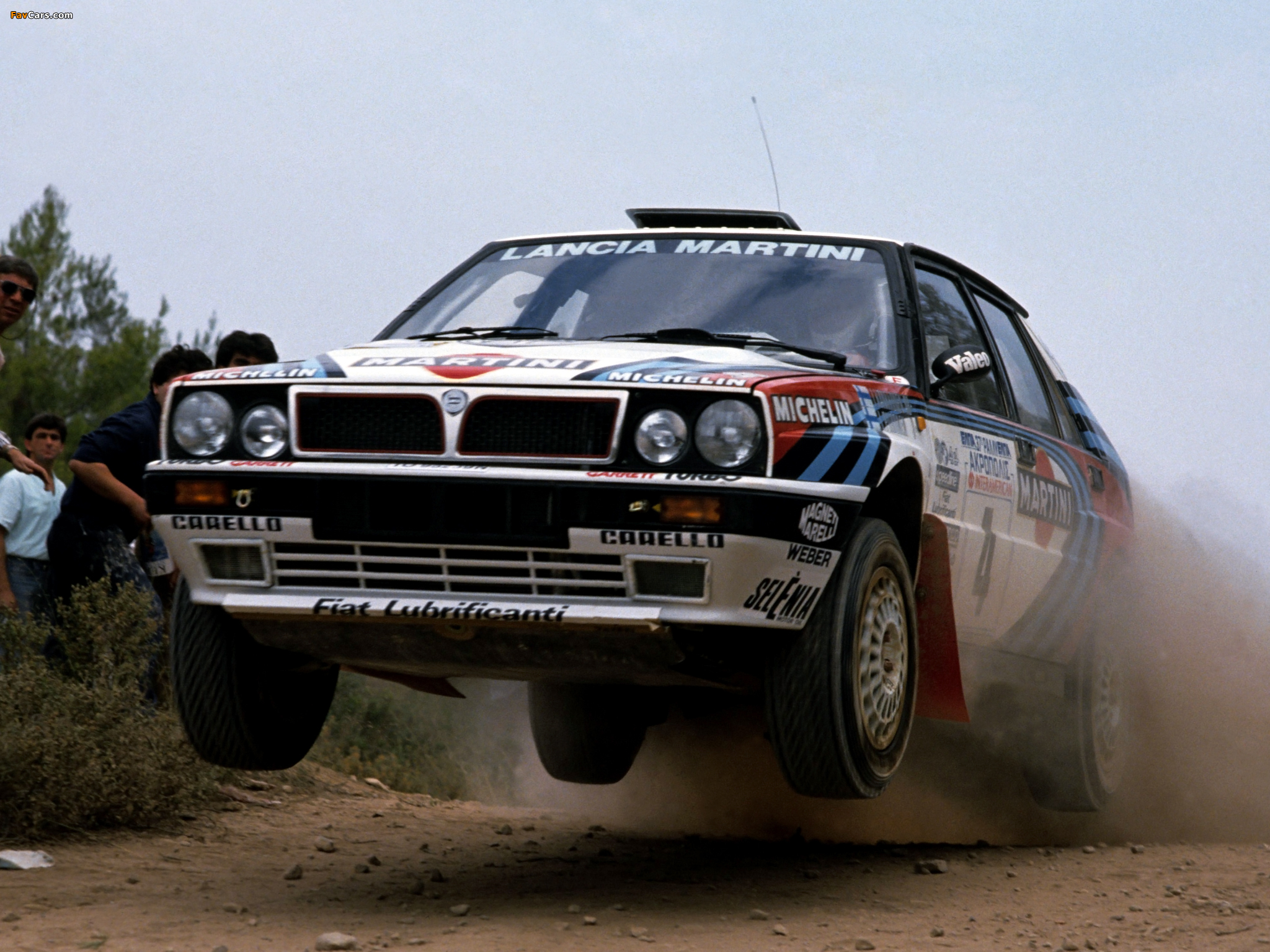Lancia Delta HF Integrale 16v Gruppo A SE045 (1989–1991) wallpapers (2048 x 1536)
