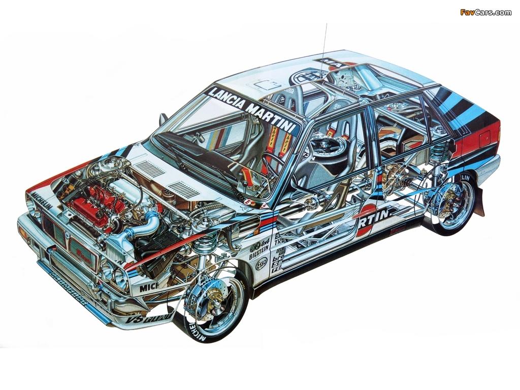 Lancia Delta HF Integrale Gruppo A SE044 (1988–1989) wallpapers (1024 x 768)