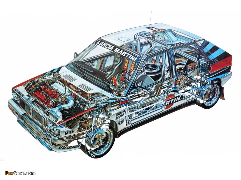 Lancia Delta HF Integrale Gruppo A SE044 (1988–1989) wallpapers (800 x 600)