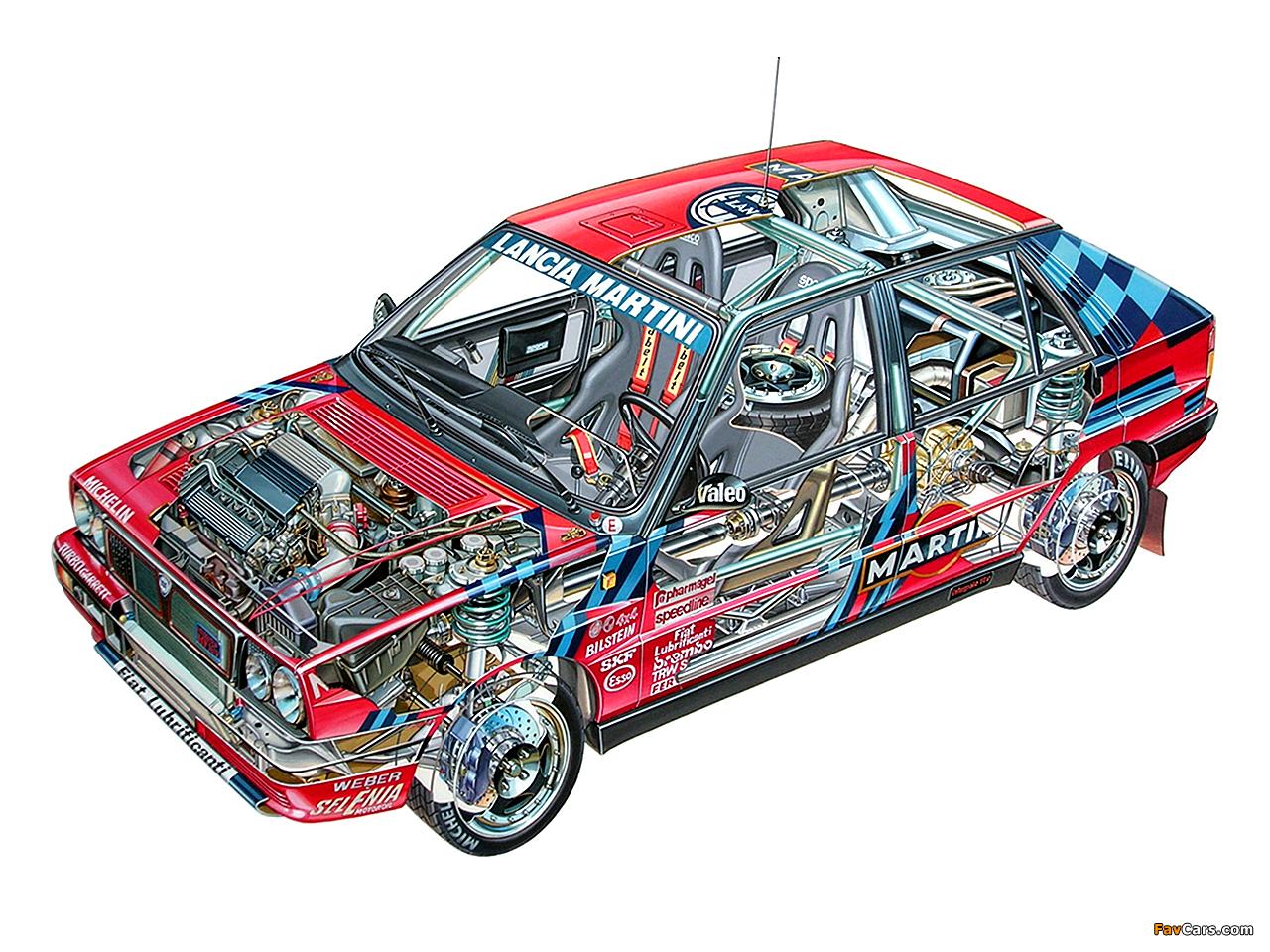 Lancia Delta HF Integrale 16v Gruppo A SE045 (1989–1991) wallpapers (1280 x 960)