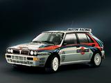 Lancia Delta HF Integrale Evoluzione Gruppo A SE050 (1992–1993) wallpapers