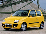 Pictures of Fiat Seicento Sporting Abarth UK-spec (2001–2004)