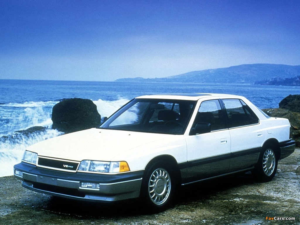 Images of Acura Legend (1986–1990) (1024 x 768)