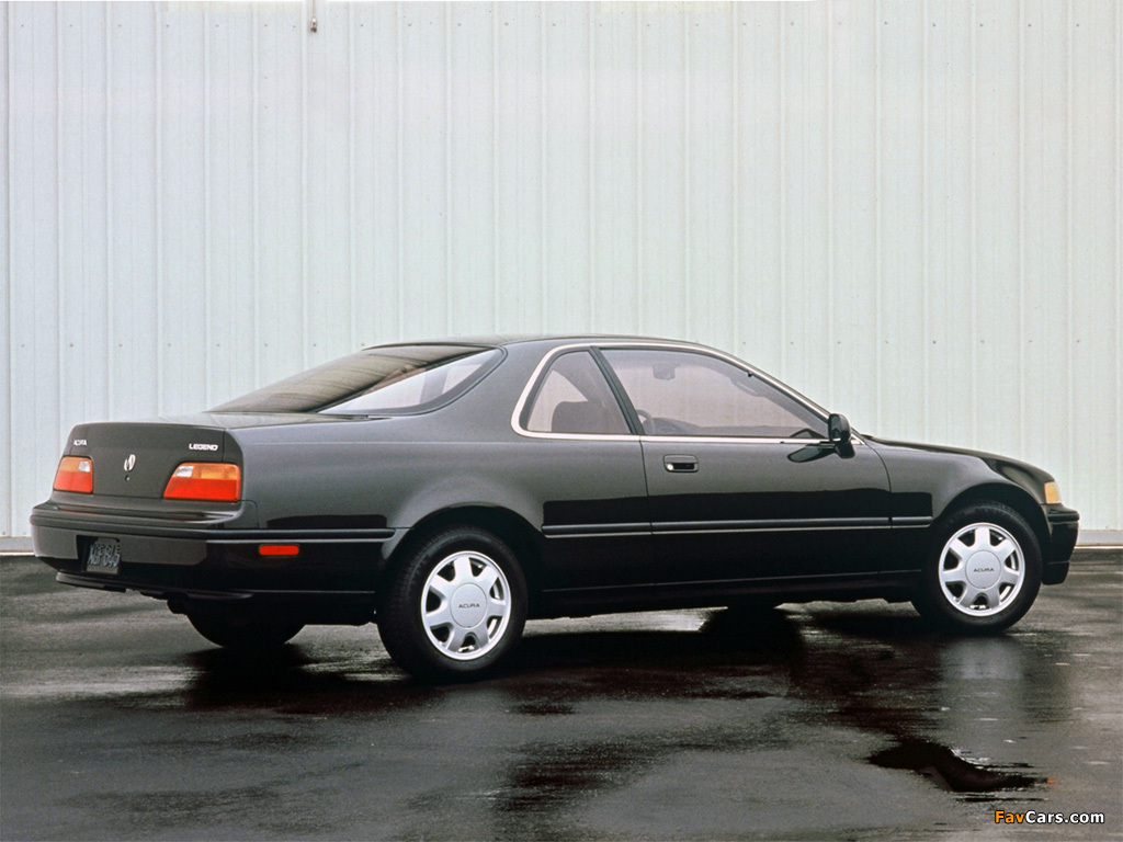 Images of Acura Legend Coupe (1990–1995) (1024 x 768)