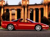 Photos of Acura NSX-T (1995–2001)