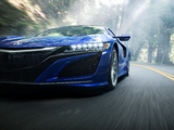 Acura NSX 2016 wallpapers