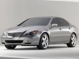 Acura RL Prototype (2004) photos