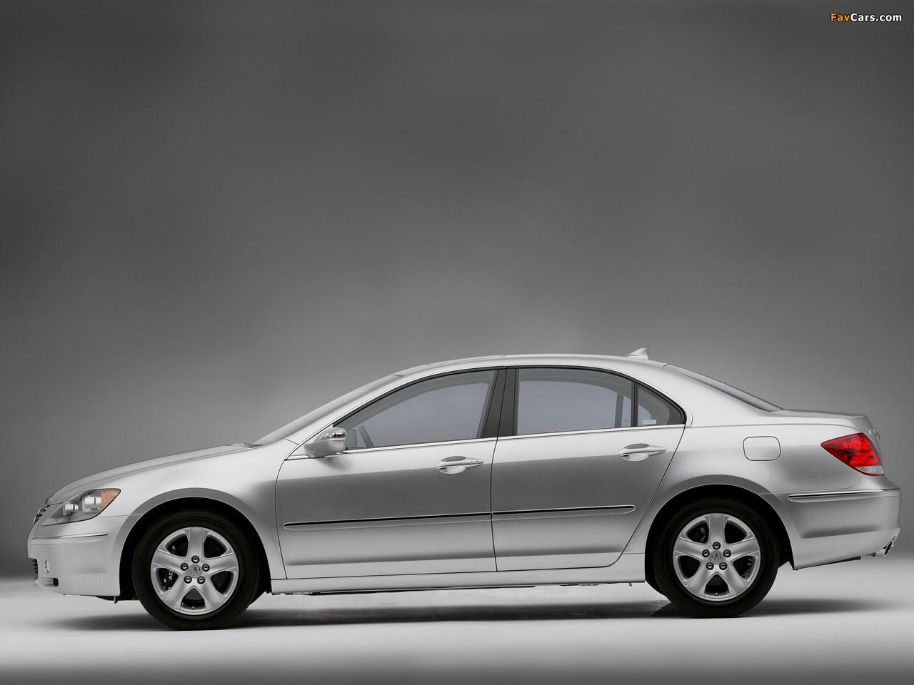 Acura RL (2004–2008) photos (1280 x 960)