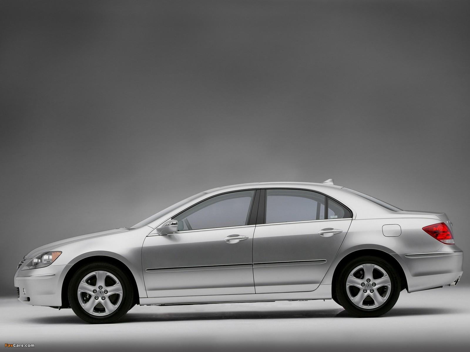 Acura RL (2004–2008) photos (1600 x 1200)