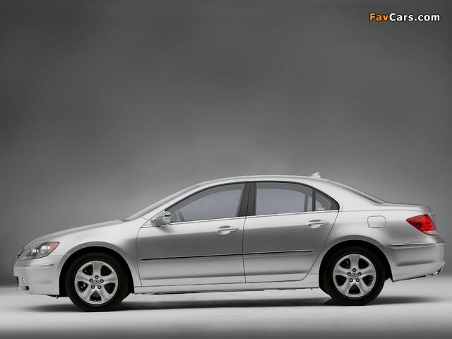 Acura RL (2004–2008) photos (640 x 480)