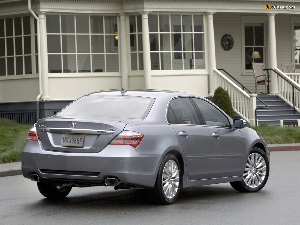 Acura RL (2010) wallpapers (1024 x 768)