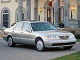 Photos of Acura 3.5 RL (KA9) 1995–98