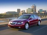 Photos of Acura RL (2008–2010)