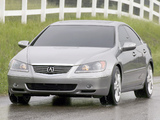 Pictures of Acura RL Prototype (2004)