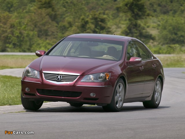 Acura RL (2004–2008) wallpapers (640 x 480)