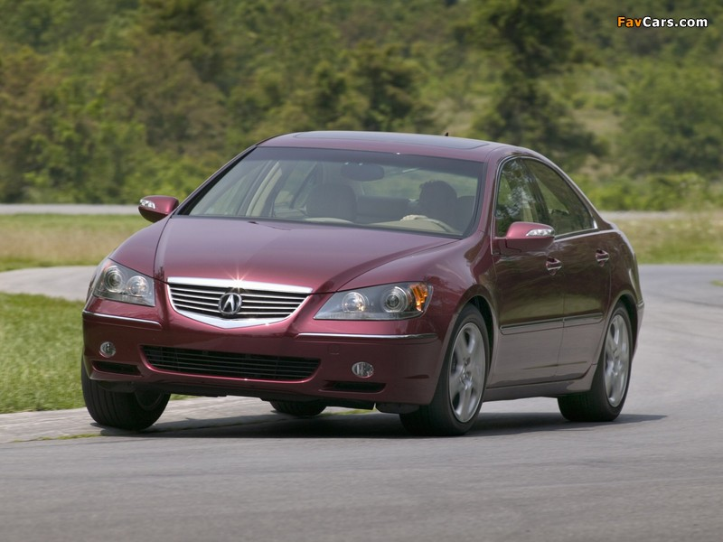 Acura RL (2004–2008) wallpapers (800 x 600)
