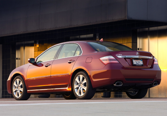 acura rl 2008 2010 wallpapers