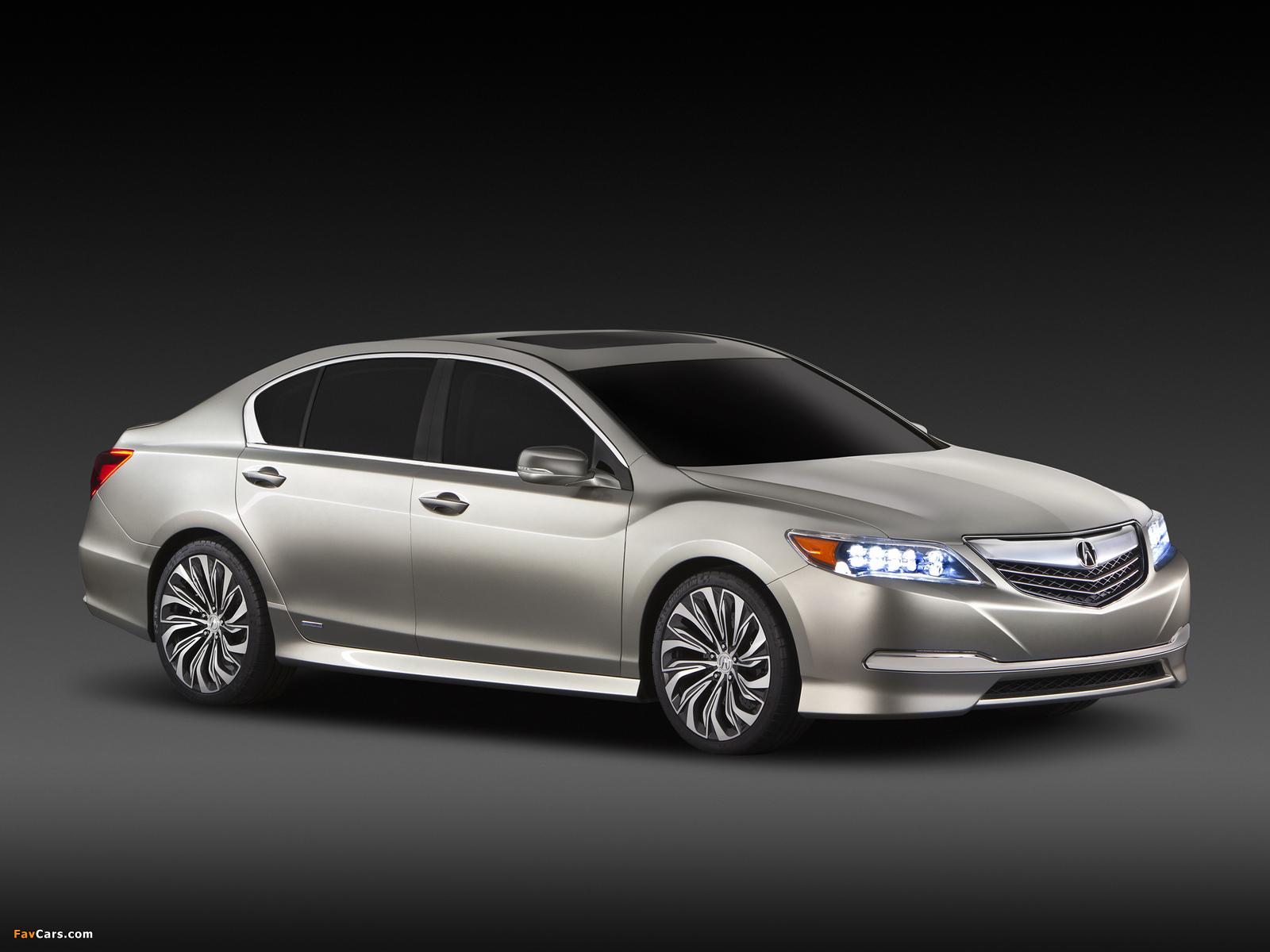 Acura RLX Concept (2012) images (1600 x 1200)